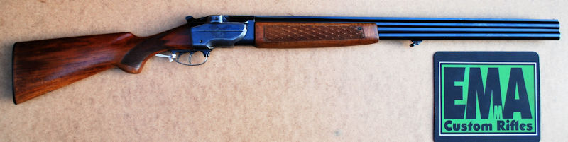 BRNO 12G OVER AND UNDER MODEL ZH101 SHOTGUN - Emma Custom Rifles