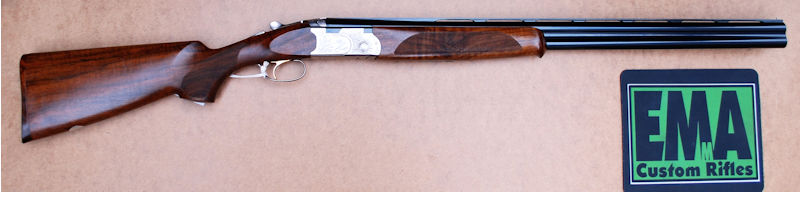 BERETTA 12G OVER AND UNDER 687 GRADE III SHOTGUN